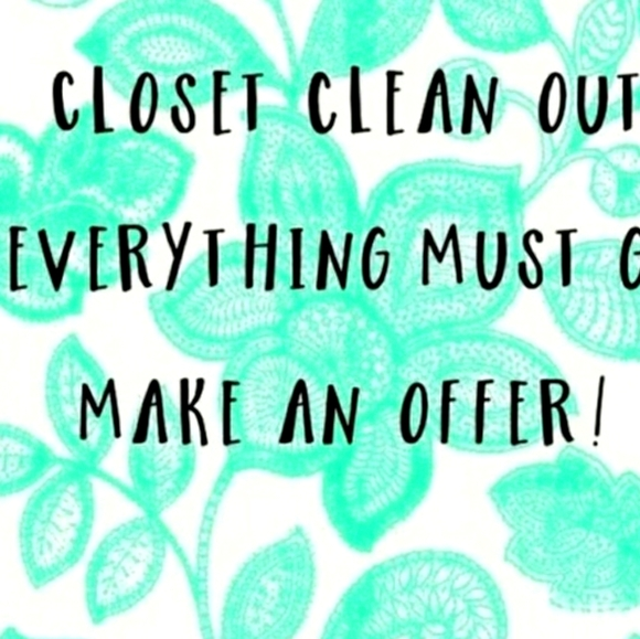 Huge Closet Cleanout! My loss is your gain